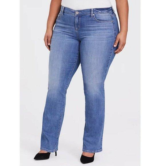 Torrid Slim Boot Jeans Size 16